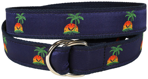 Island Time D-Ring Belt