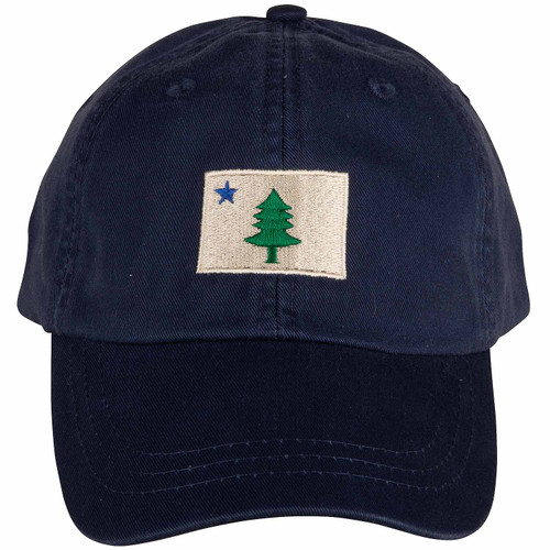 Original Maine Flag Hat | Navy