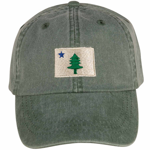 Original Maine Flag Hat | Spruce
