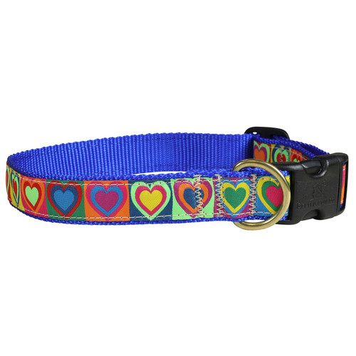 Hearts Dog Collar - 1 Inch