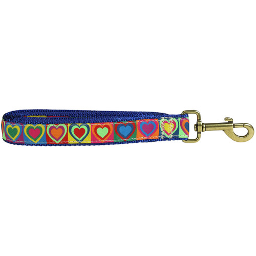 Hearts Dog Lead - 1 Inch