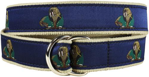 Walrus in Dinner Jacket D-Ring Belt