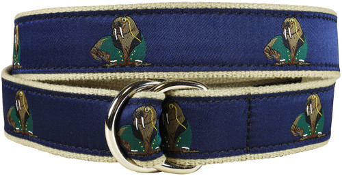Walrus in Dinner Jacket D-Ring Belt