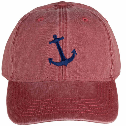 Anchor Hat | Nautical Red