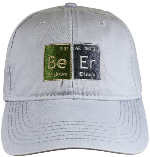 Beer Chemistry  Hat - Light Gray