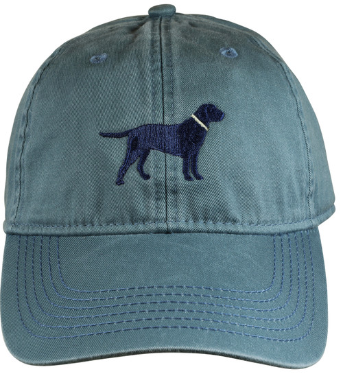 Navy Dog Hat - Blue Slate