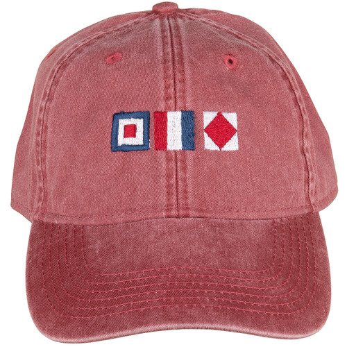 WTF Hat | Nautical Red