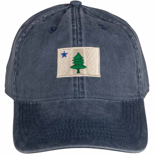 Original Maine Flag Hat | Washed Navy