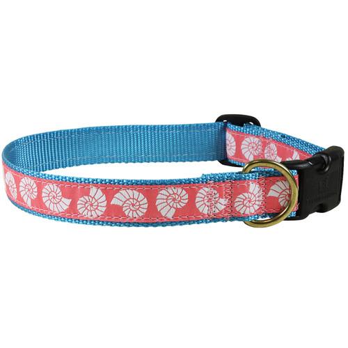 Seashells Dog Collar - 1 Inch