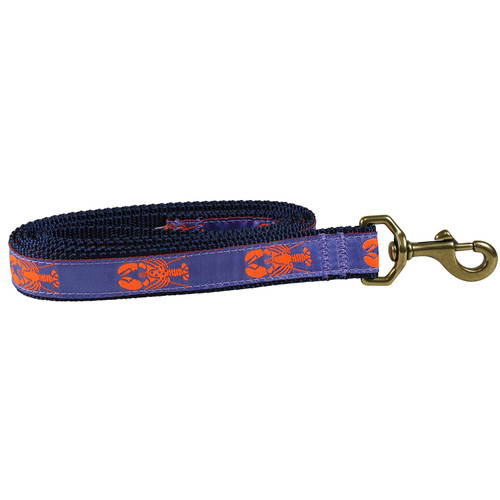 Periwinkle Lobster Dog Lead  - 1 Inch