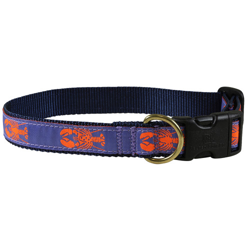 Periwinkle Lobster Dog Collar - 1 Inch