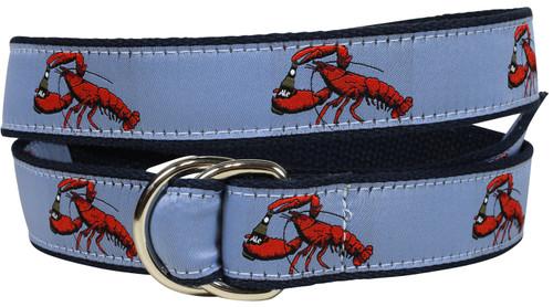 Lobster & Ale D-Ring Belt