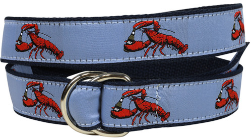 Lobster & Ale D-Ring Belt