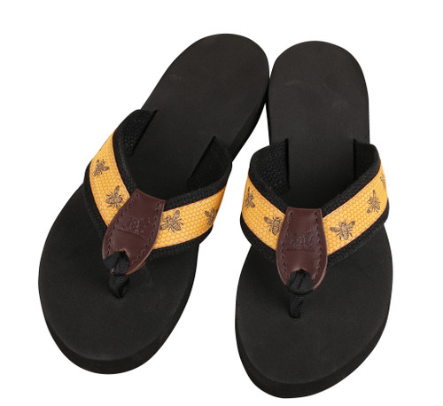 Honey Bees Flip Flops