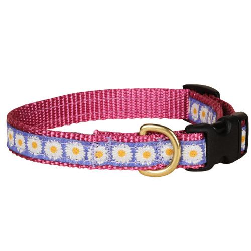 Daisies Dog Collar | 5/8 Inch