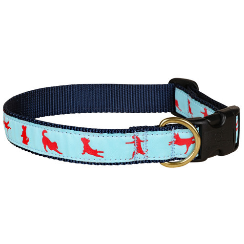 Yoga Dogs Dog Collar - 1 Inch