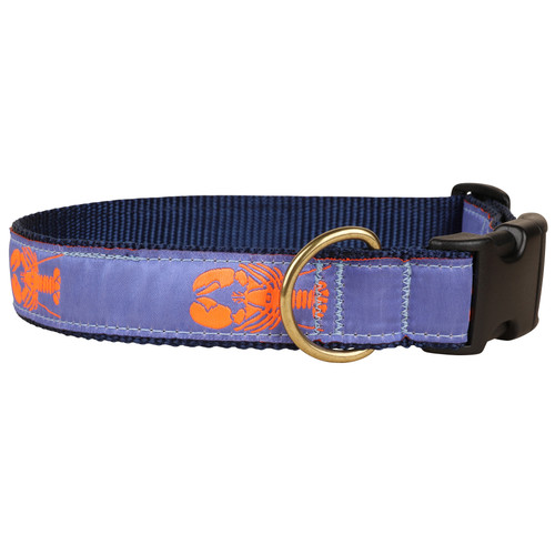 Lobster Dog Collar - Periwinkle- 1.25 Inch