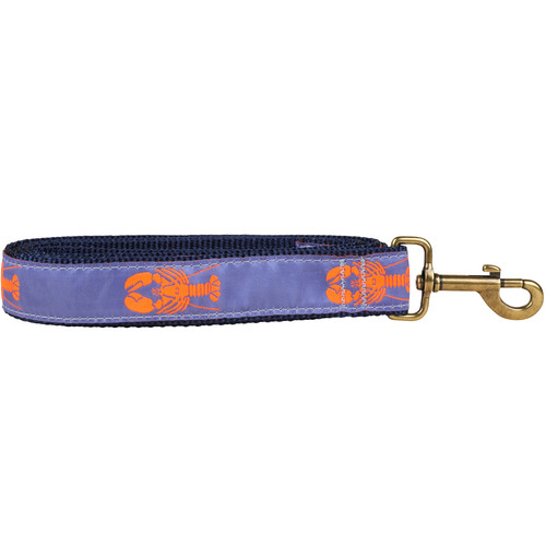 Lobster Dog Lead - Periwinkle - 1.25 Inch