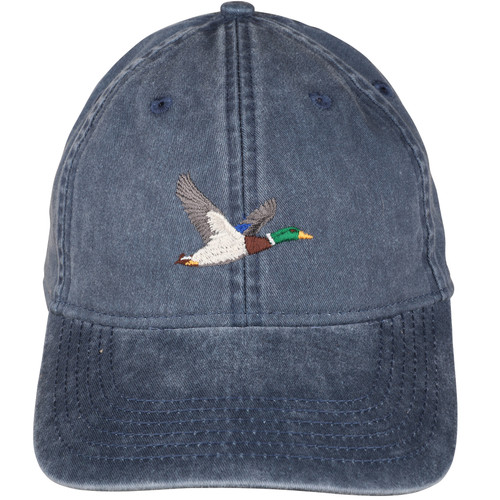 Duck hat on Washed Navy