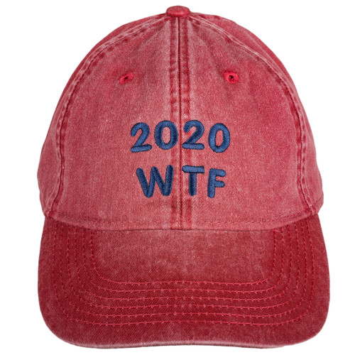 2020 WTF Hat - Nautical Red