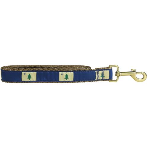 Original Maine Flag Dog Lead  - 1.25 Inch