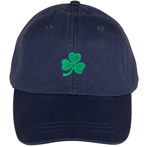 Emerald Shamrock Hat | Navy