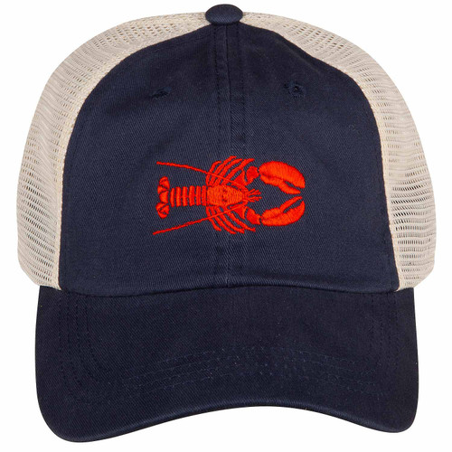 Lobster Hat | Navy Trucker Hat