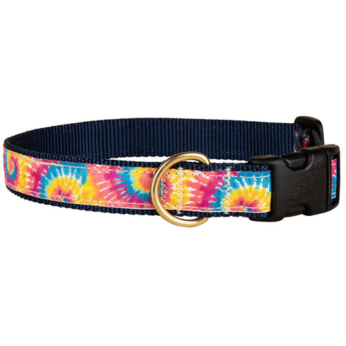 Tie Dye Dog Collar | 1 Inch