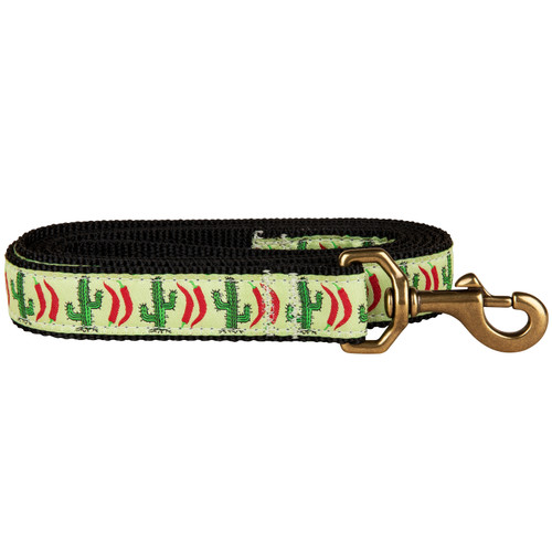 Chili Pepper Cactus Dog Leash | 1 Inch