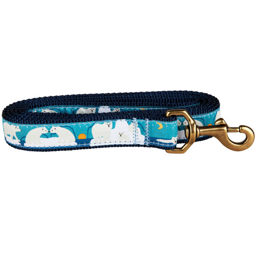 Save the Polar Bears Dog Leash | 1 Inch