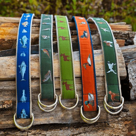D-Ring Belts on Wood