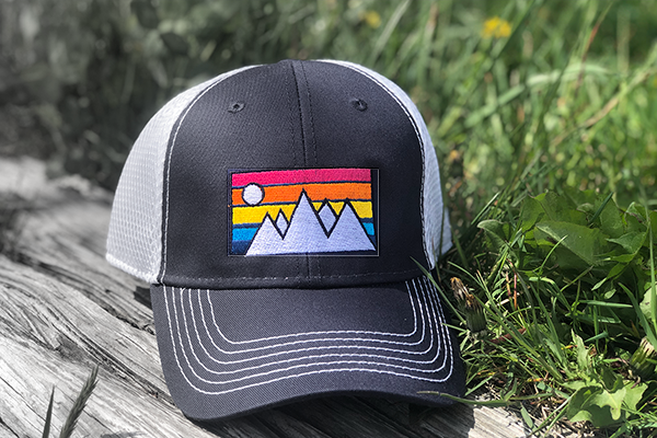 Mountain Trucker Hat Belted Cow Company