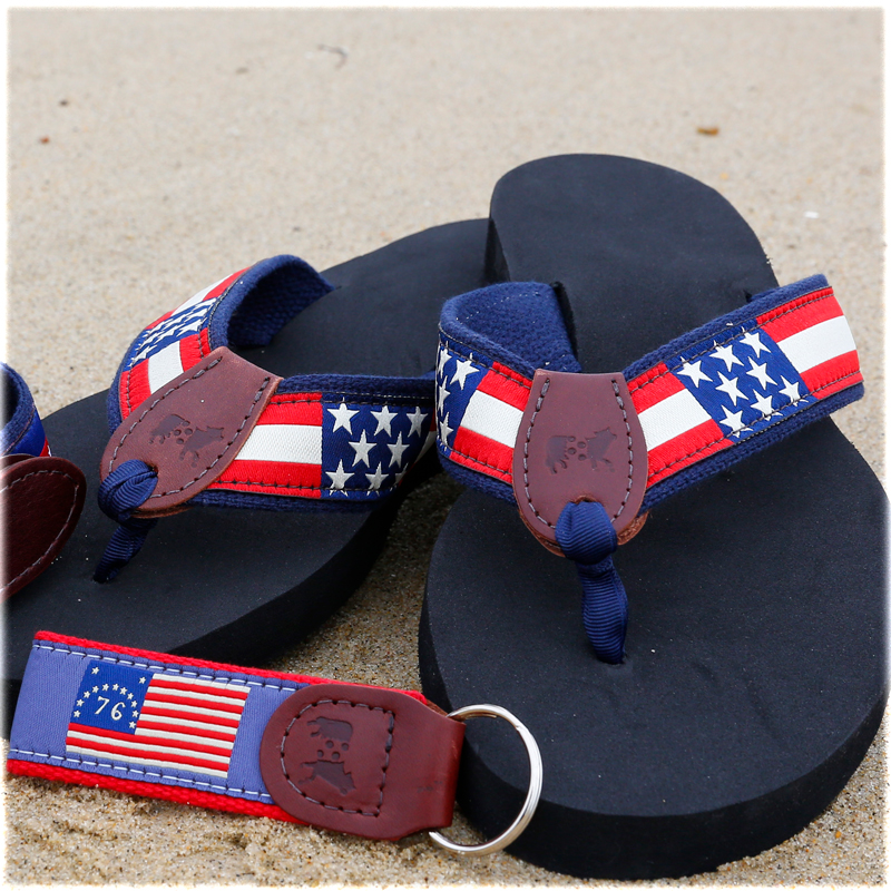 July 4th product on beach