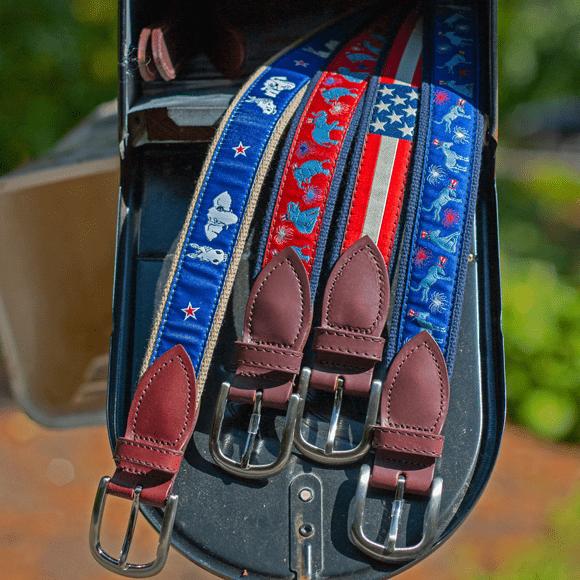 Political Belts in Mailbox