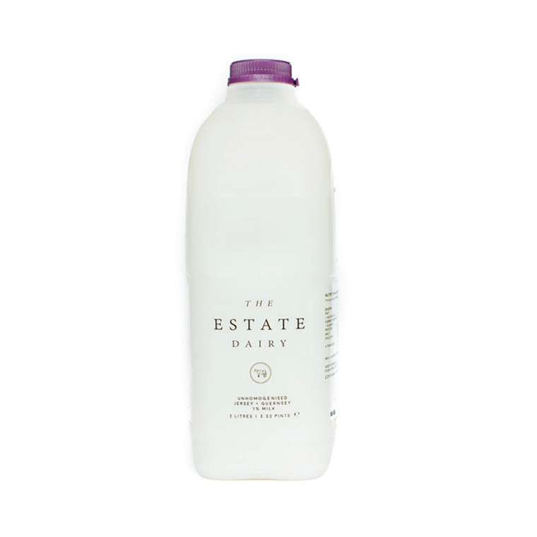 The Estate Dairy 1% Skimmed Milk 2L