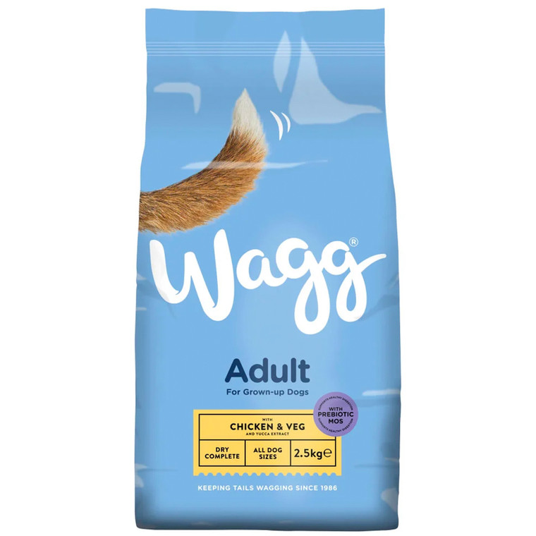 WAGG Chicken & Vegetables Dry Dog Food x 2.5kg