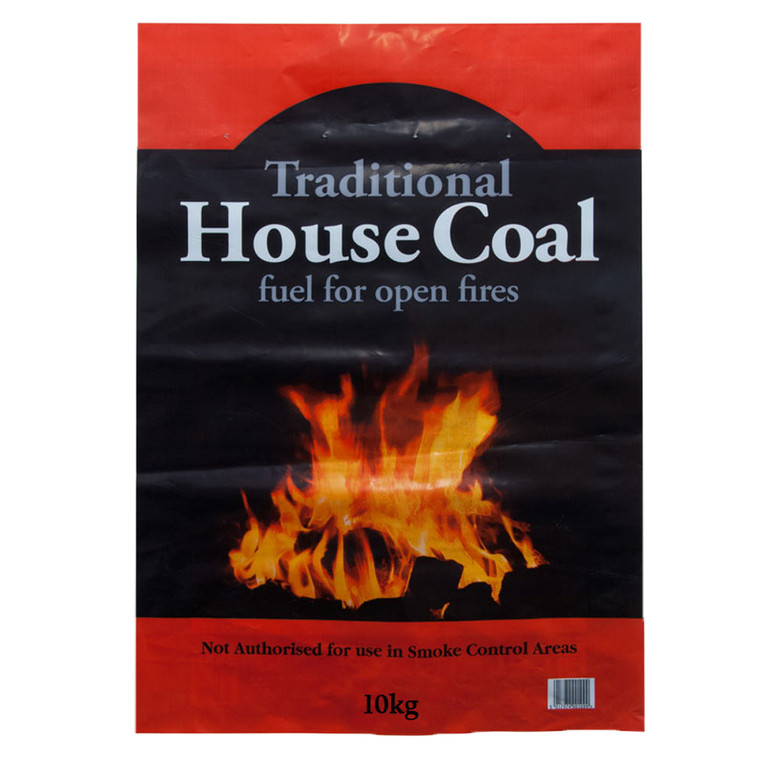 1 x 10kg  Bag House Coal Open Fire Camping Cookers Stoves Boilers Easy to Light