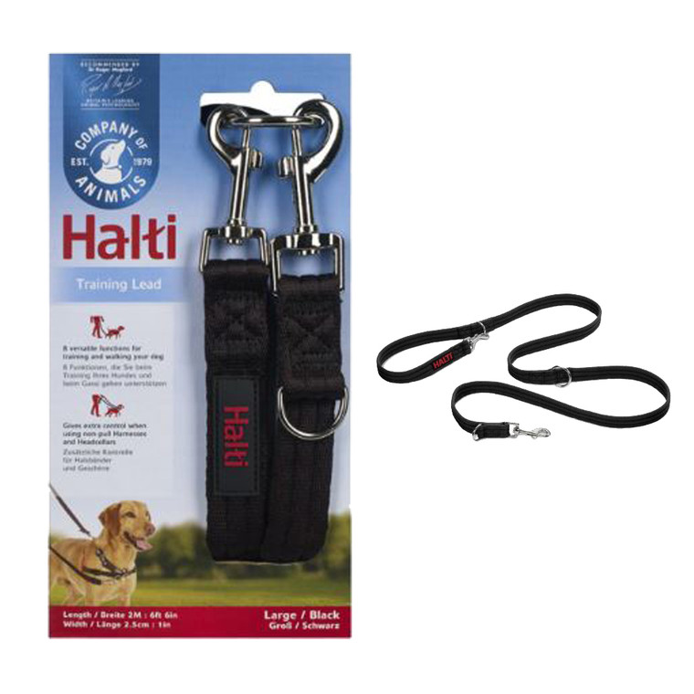 Dog 2m Long  Strong Training Lead Leash 8 Function Walking Small Large