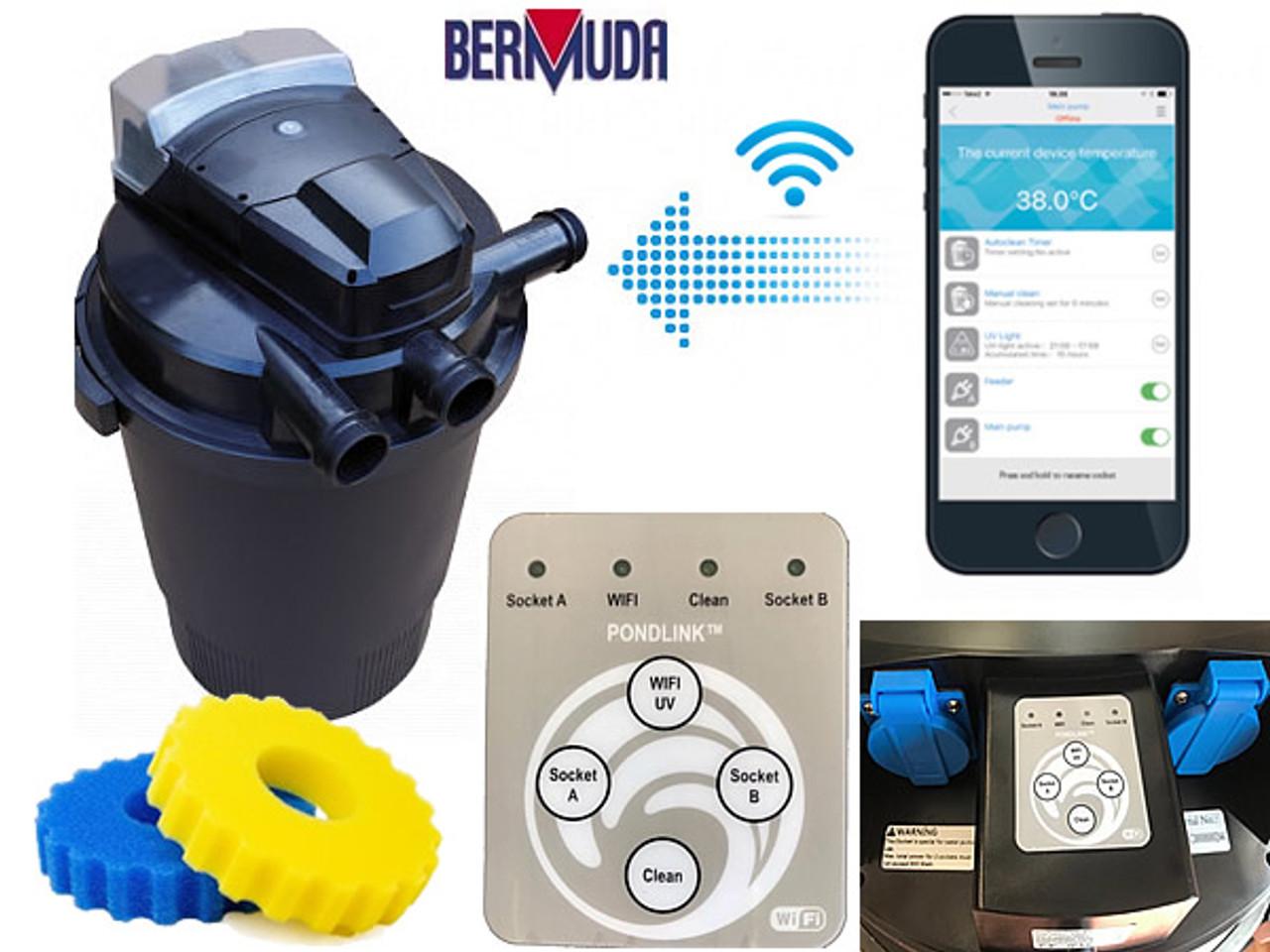 Bermuda 20000 Wi-Fi Controlled Pressure Filter - BER4001
