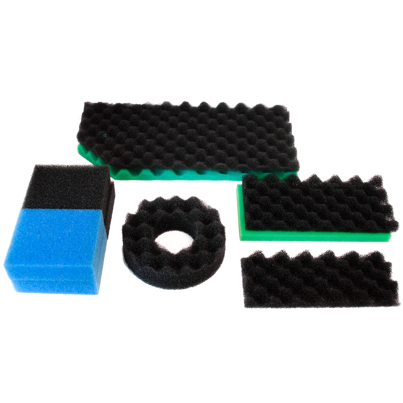 18in x 25in Per Set Of 3 High Quality Media 3-Piece Pond Filter Foam Packed