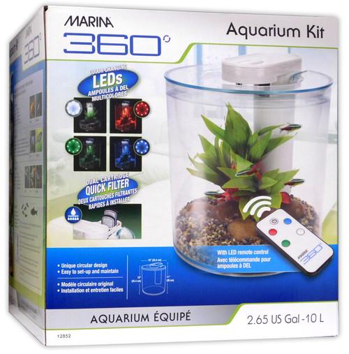 Hagen Marina 360 Complete Aquarium Kit Boxed - 12852