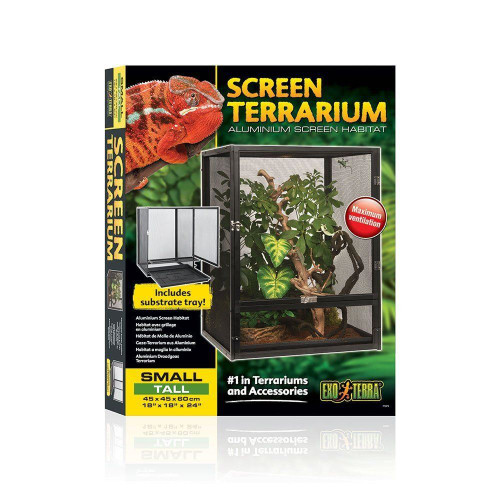 Exo Terra Screen Terrarium - SMALL TALL