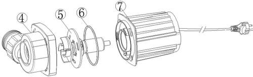 Jebao TMP 8000 Pond Filter Pump