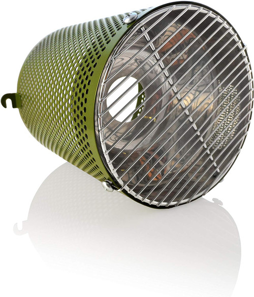 White Python Heat Guard & Reflector Leaf Green - HWG020