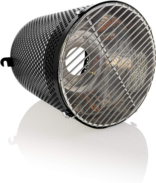 White Python Heat Guard & Reflector Black- HWG010
