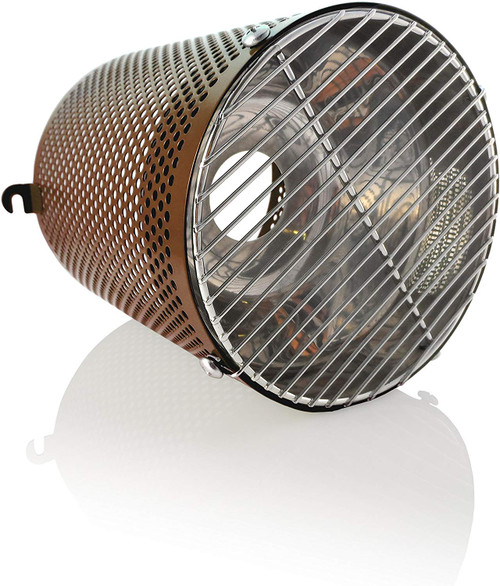 White Python Heat Guard & Reflector Brown- HWG030