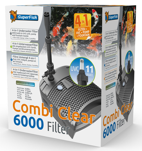 Superfish Combi Clear 6000 All In 1 Filter - 06020757