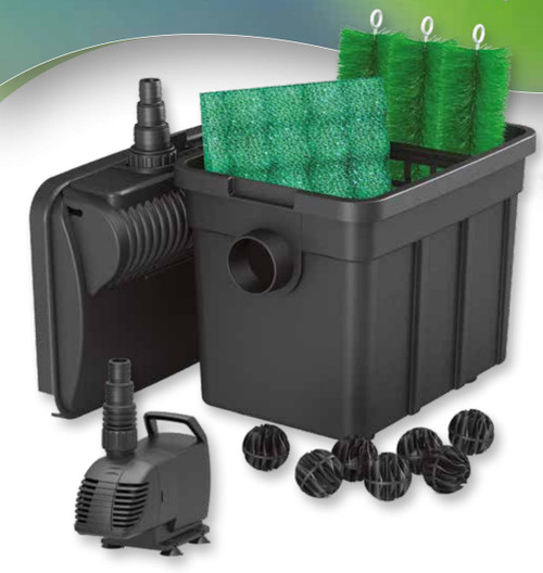 Superfish Pond Clear 3000 3in1 Filter Pump 5w UV - E6020232