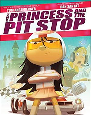 Princess at the Pit Stop