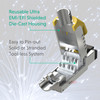 Cat8 RJ45 Ethernet Cable Connector (2-Pack) 40G S/FTP for 22AWG-24AWG Cables